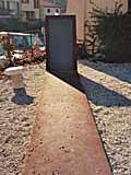 Denkmal für Lisa und Hans Fittko in Banyuls/ Pyrenäen  Fotos: U. Müller